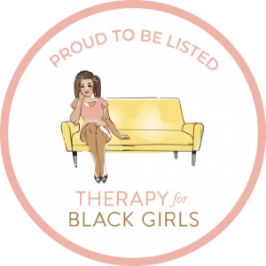 Therapy for black girls badge. Counseling for women in Beachwood, Ohio 44122, therapy for black girls