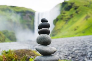 Rocks stacked on top each other. Balance is important in managing addictions. Counseling with a certified EMDR therapist helps with anxiety, depression, stress, self-esteem, emotional eating and more.